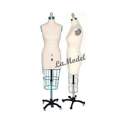 Professional Dress Forms Sewing Dress form Size 6 w/Hip Collapsible Shoulders