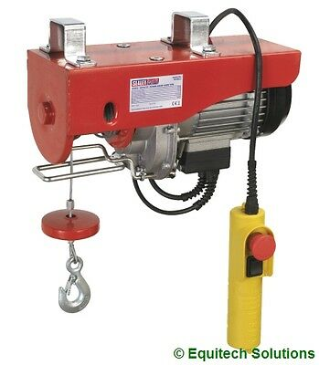 Sealey Tools PH400 Electric Power Hoist Winch Lift 400Kg Scaffolding Site New