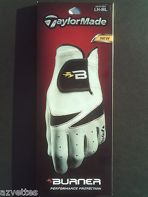 NEW! TaylorMade Mens Burner Golf Glove LH  Medium-Large