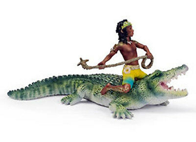 NEW SCHLEICH 70444 Kenjok Lord of the Crocodiles