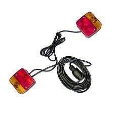 Magnetic trailer light board towing lights 2.5m & 7m emergency rear tow lamps