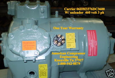 Carrier Carlyle Refrigeration Semi Hermetic Compressor