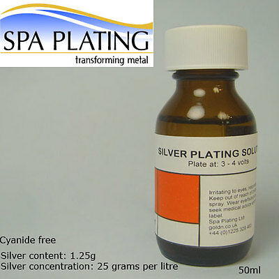 Silver Brush Plating Solution 50ml