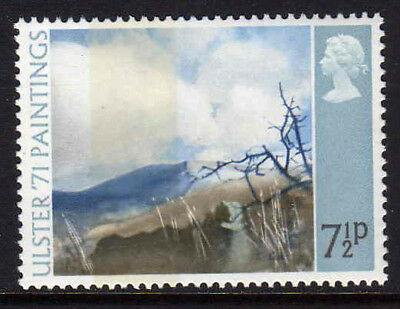 GREAT BRITAIN 1971 ULSTER 7½p BROAD BAND W 202c MNH.