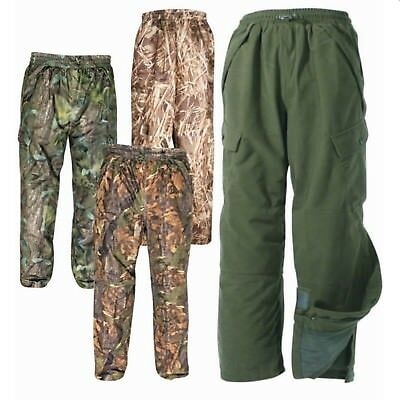 Jack Pyke Hunters Waterproof Trousers Stealth Fabric Hunting Fishing Shooting