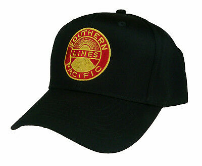 Southern Pacific Railroad Embroidered Cap Hat #40-0050