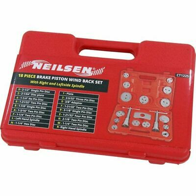 18 Piece Brake Piston Caliper Rewind Tool Set - left & right wind & push back