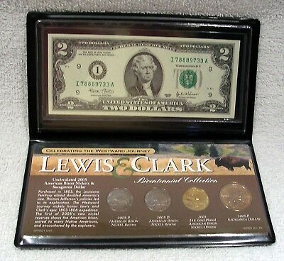 Lewis & Clark Bicentennial Coin & Currency Commemorative  -  WestWard