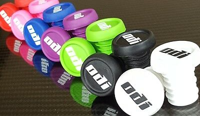 ODI Bar End Grips Plugs (NEW) Mountain Bike BMX (7 Colours) Thug Plugs (PAIR)