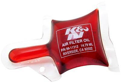 99-11312 K&N KN AIR FILTER RED OIL 1/2 oz PILLOW PACK