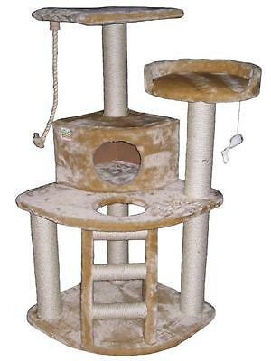 """48"""" Cat Tree House Toy Bed Scratcher Post Furniture F08"""
