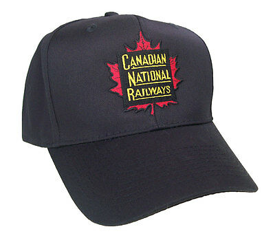 Canadian National Railroad Embroidered Cap Hat #40-1445