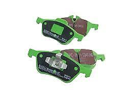 Honda Civic Coupe 1.6 1996-98 Ebc Greenstuff Front Brake Pads Dp2890