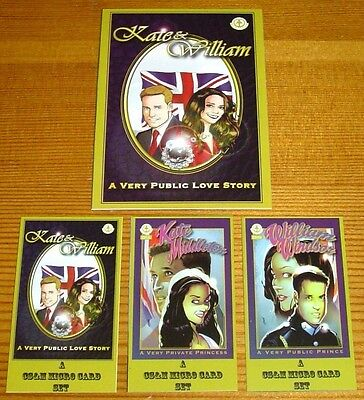 Kate & William Royal Wedding Ltd. Ed. Mint 4-Card Set