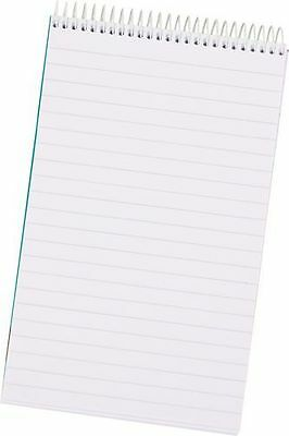 Pack of 3 Shorthand Spiral Bound Note Pads Feint Ruled 80 Leaf WX31003