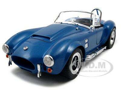 1966 Shelby Cobra Supersnake Blue 1:18 By Shelby Collectibles Sc125