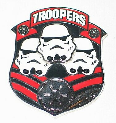 Star Wars Stormtroopers Troopers Logo 3-D Cloisonne Pin