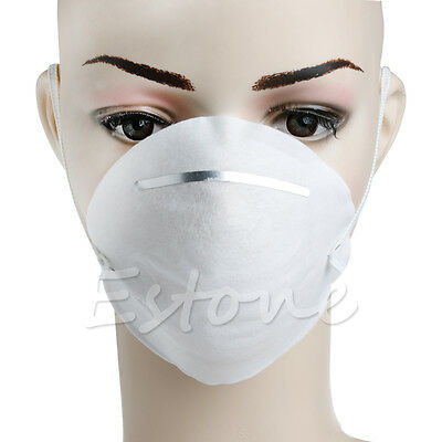 10pcs Dust Face Mask Filter Mouth Disposable Non-toxic Comfortable White New