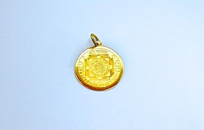 Laxmi Yantra Pendant (New) For Wealth And Prosperity