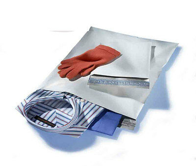 200 Bags 100 Each 6 x 9, 7.5 x.10.5, WHITE POLY MAILERS