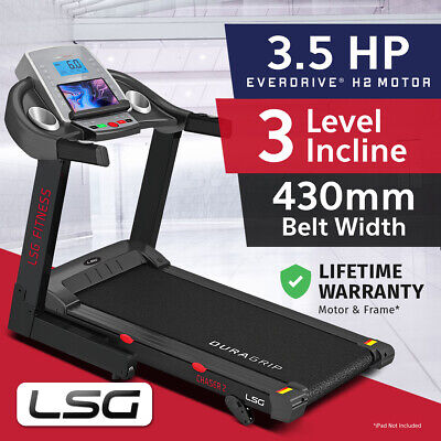 Lifespan Chaser #New Electric Treadmill Quiet EverDrive® Motor w/ iPad Stand