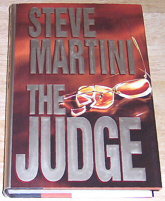 The Judge by Steve Martini (1996, Hardcover)