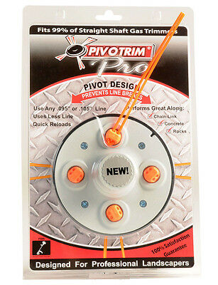 PIVOTRIM PRO COMMERCIAL TRIMMER HEAD WEED WHACKER ON TV