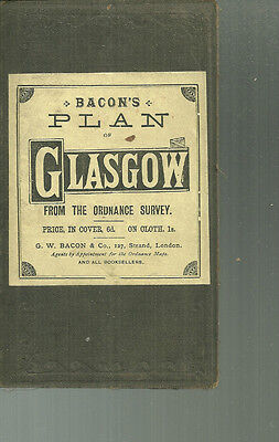 Bacon's Plan of Glasgow from the Ordnance Survey