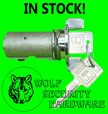 Chevy GM Ignition Key Switch Lock Cylinder Assembly Chrome ** IN STOCK **