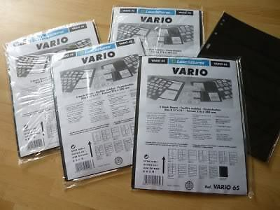 Vario 4S 5S 6S 7S 8S Stock sheet stamp album pages Lighthouse