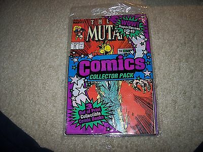 Awesome Sealed Combo Valiant And Marvel Comic Never Opened 3 Comics !!!!
