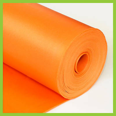 3 in 1 UNDERLAYMENT Laminate Foam 2mm 100 sq.ft Orange by LessCare