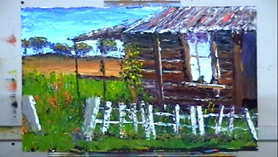 How to Paint Landscapes   RUSTIC FARM
