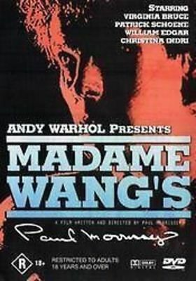 Andy warhol presents madam wangs new sealed region 4 stocked in Perth