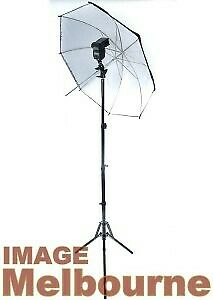 Light stand bracket 110cm silver umbrella strobist kit for speedlight flash