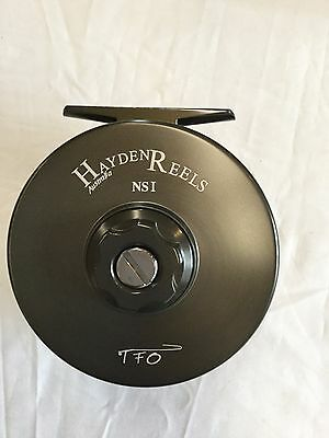 Hayden Narrow Spool-1 Large Arbor Fly Reel Retail $399.95