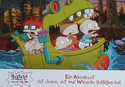 THE RUGRATS MOVIE - Lobby Cards Set - Nickelodeon - ANIMATION