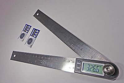 Digital Electronic Miter Angle Finder Protractor  Rule 11""