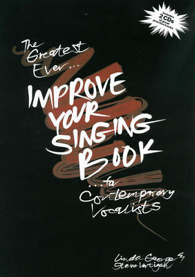 The Greatest Ever Improve Your Singing Book:  Bk/cd Vce