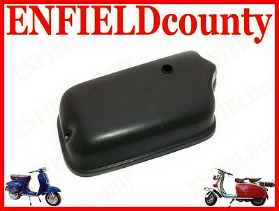 Brand New Vespa Black Painted Carburettor Box Cover Rally, Super, Vbb, Sprint