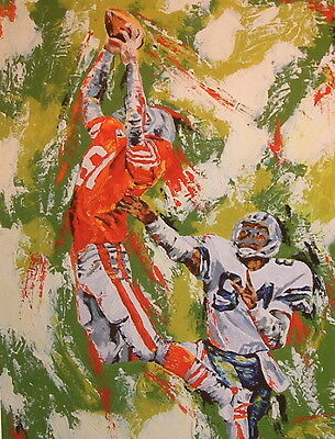 sports art print NFL Catch Football Limited Edition award-winning artist