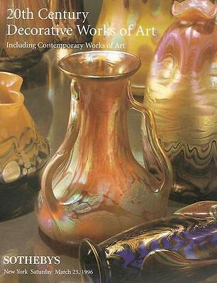 Sotheby's 20th Century Decorative Art + Contemporary Artworks 1996