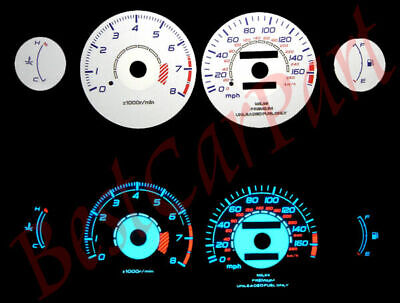95-99 Eclipse NA AT BLUE INDIGLO GLOW WHITE GAUGES