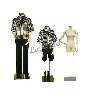 Female Body Dress Form with Flexible Arms, Mannequins Body Form Size: M