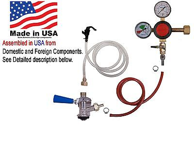 Party Faucet Keg Kit, Standard (Sanke), Taprite Regulator