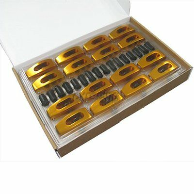 "CXRacing Aluminum ROLLER ROCKER ROCKERS ARMS kit 1.72"" 7/16 For SBC Chevy SB V8"