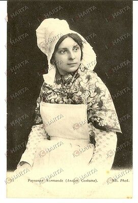 1905 COSTUMES NORMANDIE (France) - Paysanne normande FP NV