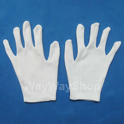 New 3 Pairs Cotton Gloves For Watch Tool Technician W