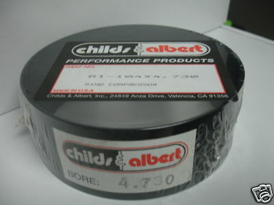 Childs & Albert Piston Ring Compressor Tool 4.730 Bore Rings