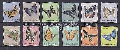 Gambia stamp MNH Butterflies Nature Insects WS92994
